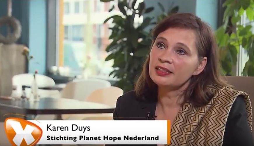 Planet Hope op tv